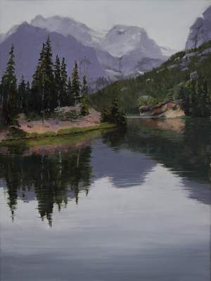 Paintings of Rocky Mountain National Park  Colorado