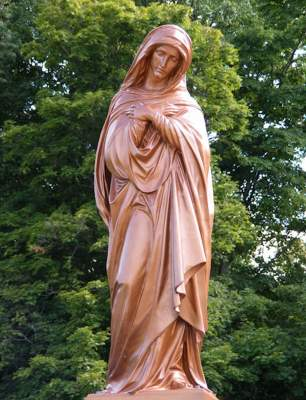 Photographs of Statues of Mary