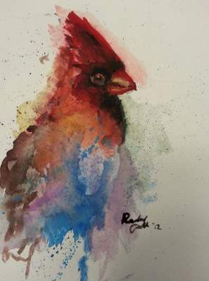 Wildlife in Water Color
