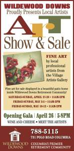 Art Show and Sale at Wildewood Downs Retirement Center