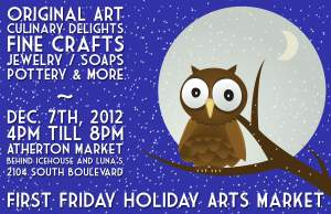 First Friday Holiday Arts Market