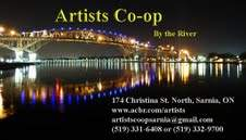 Artists Co-op By The River   Sarnia ON    Grand Opening