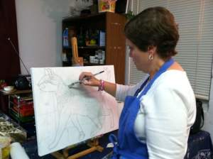 Acrylic Painting Lessons Kissimmee Location