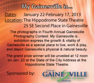 Finalists and Winners of the Gainesville Photo Contest