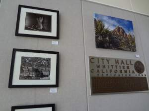 SOLO EXHIBIT AT CITY OF WHITTIER