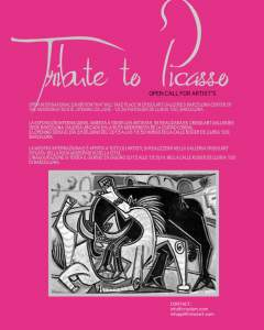 Tribute to Picasso Exhibition Crisolart Galleries Barcelona Spain