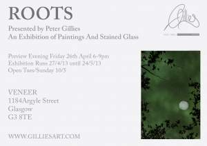 Roots presented by Peter Gillies