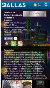 Fantastic Realism LuminArte Gallery Dallas Texas