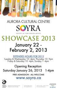 SOYRA Showcase 2013