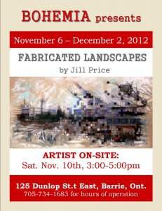 Fabricated Landscapes by Jill Price