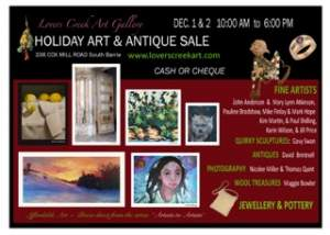 Lovers Creek Holiday Art and Antique Sale