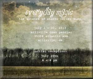 Everyday Magic - The Artography Of Sharon OBrien Huey