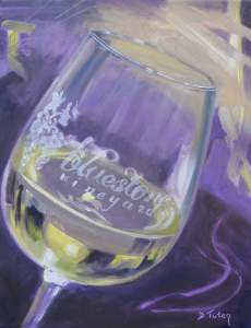 Meet The Artist at Bluestone Vineyard in Bridgewater VA