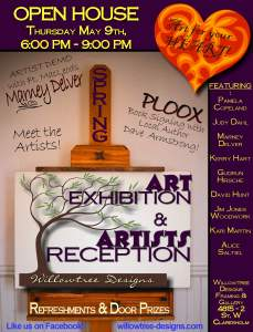 Willowtree Designs Gallery and Custom Framing Spring Show
