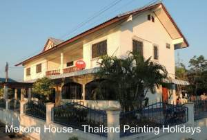 Painting photography tuition and discover NE Thailand village culture and food