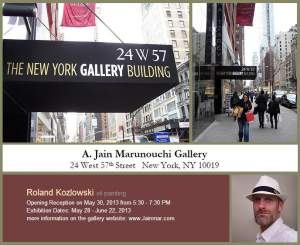 Roland Kozlowski Oil Painting Group Show
