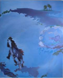 Panta rhei - everything flows - New Paintings by Eileen Starr Moderbacher