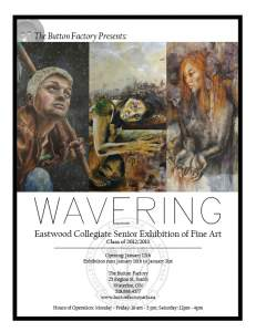 Eastwood Collegiate Senior Exhibition of Fine Art