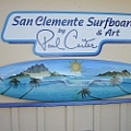 San Clemente Surfboards Art - Fine Art Gallery