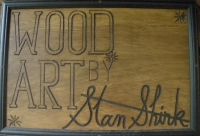 Wood Art by Stan Shirk - Fine Artist