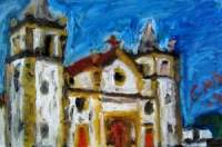 Oil Pastel Paintings
