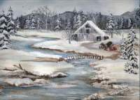 Winter Scenery Paintings
