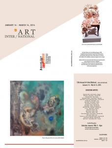 Deadline For Entries 14th Annual Art InterNational