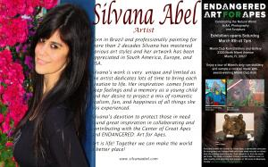 Silvana Abel In Miami With Endangered
