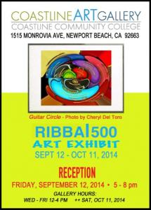 RIBBAI500 ART EXHIBIT-Coastline Art Gallery