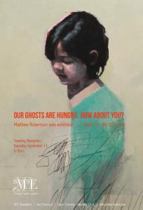 Our Ghosts Are Hungry How About You  Matthew Robertson Solo Exhibition