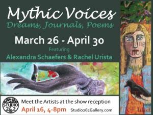 Artists Alexandra Schaefers And Rachel Urista To Show At Studio 262 In Corvallis