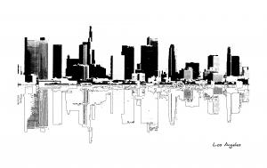 New Series Released  Los Angeles Cityscapes