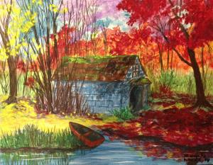 Artist Sharon Woods Is Painting Again