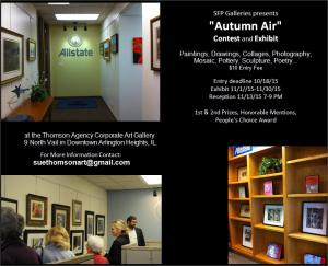 Invitation To Art Contest AUTUMN  AIR In Arlington Heights, IL