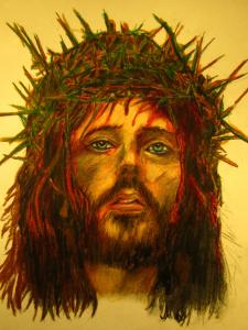 John Malone Depiction Of Jesus Places First In A Fine Art America Juried Contest.