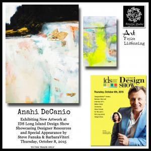 Long Island Artist Anahi DeCanio At IDS Design Show