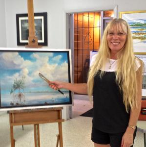 AnnaJo To Teach Acrylic Painting Workshop May 16
